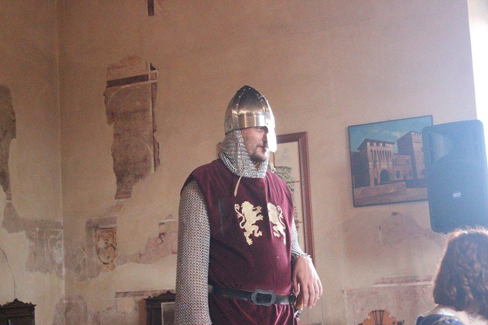 Un guerriero normanno